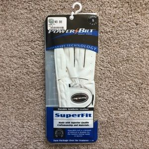 Power Bilt Ladies Golf Glove - Left Size Small NWT